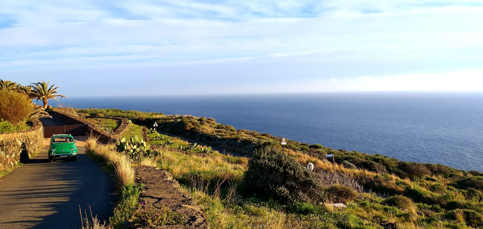 Cinquecento a Pantelleria